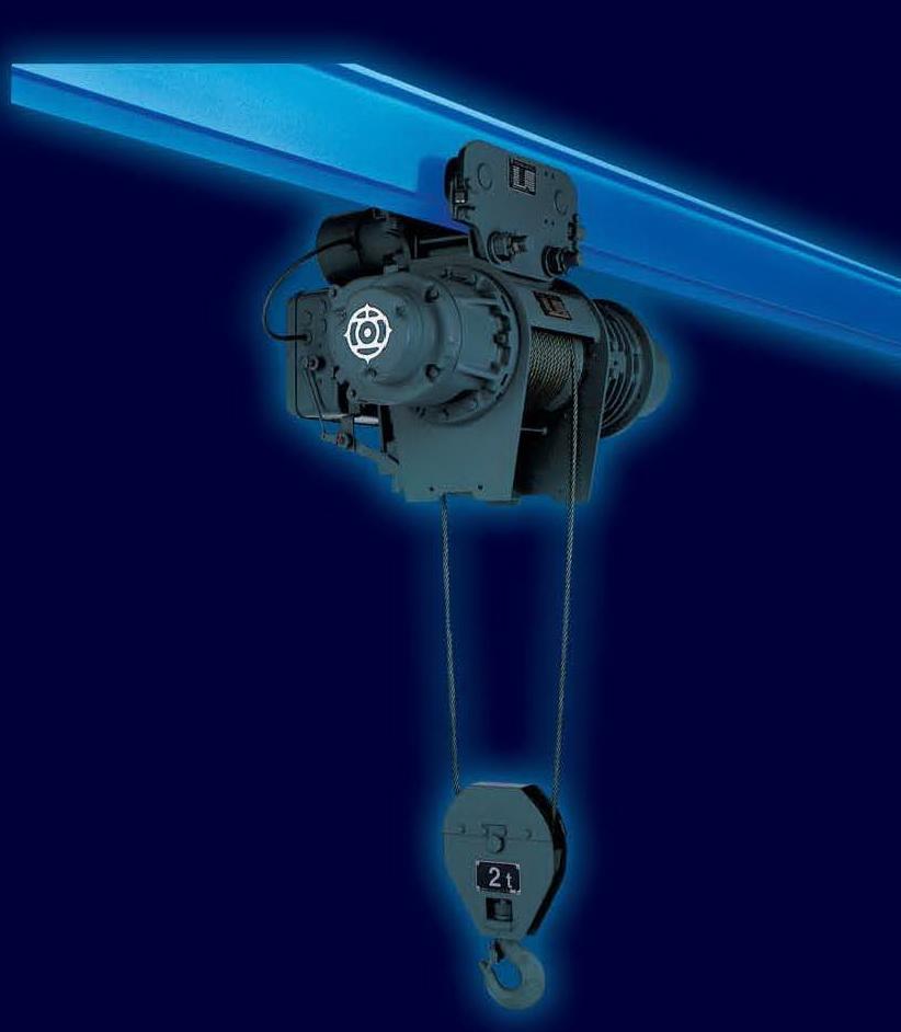รอกสลิงไฟฟ้า HITACHI 2,000 Kg./380 V. Model : 2 AM-T