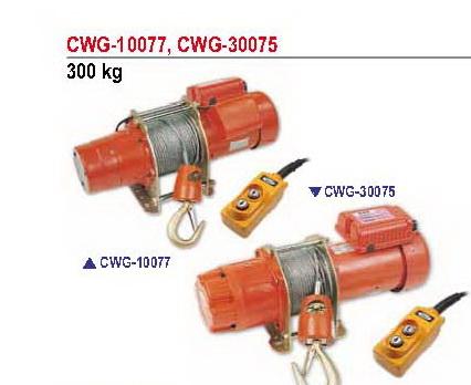 รอกกว้านสลิงไฟฟ้า คัมอัพ Comeup 300 กิโลกรัม รุ่น CWG-10077B