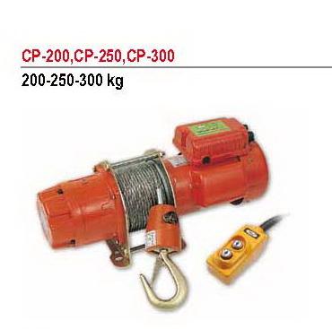 รอกกว้านสลิงไฟฟ้า คัมอัพ Comeup 200 กิโลกรัม รุ่น CP-250B