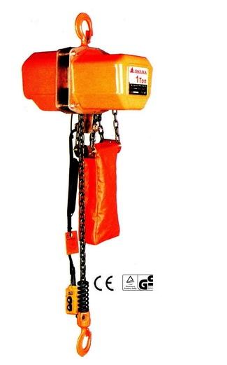 OKURA รอกโซ่ไฟฟ้า ขนาด 2 ตัน รุ่น OK-20AT 3M