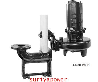 Shinmaywa ปั๊มบำบัด ปั๊มแบบจุ่ม รุ่น CN-100