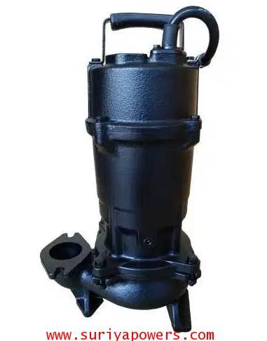 KIRA PUMP  ปั๊มน้ำเสีย รุ่น NP2.4-2 0.4KW