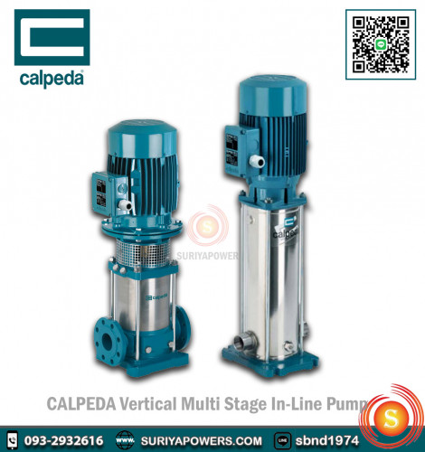 Calpeda Multi-Stage In-Line Pump MXV 50-1616