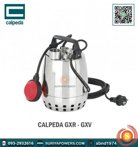 คาลปีด้า Calpeda เครื่องสูบน้ำแบบจมอยู่ใต้น้ำ รุ่น GXRM 13