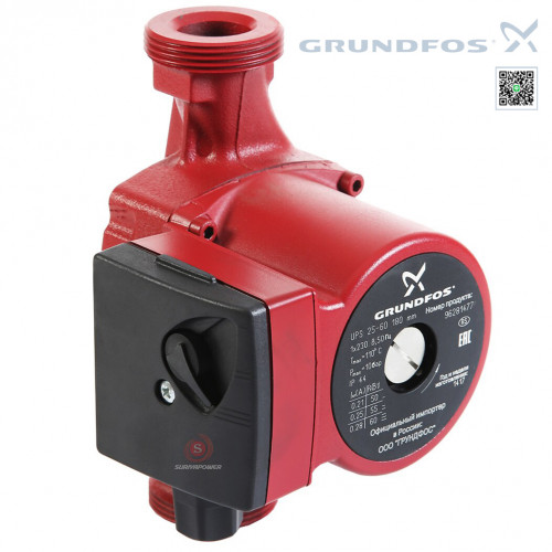 GRUNDFOS UPS 40–120F Circulator Pumps