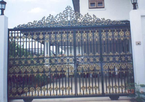 ประตูอัลลอย ลาย ป เอ็น 22