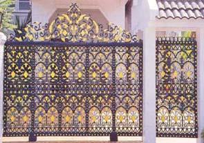 ประตูอัลลอย ลายราชศิริ