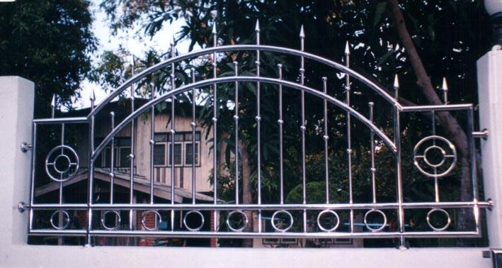 ช่องรั้วสเตนเลส No.8