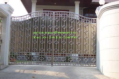 ประตูสเตนเลสบานทึบ No.16