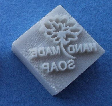 แสตมป์สบู่รูปดอกไม้handmade soap. 200 บ.