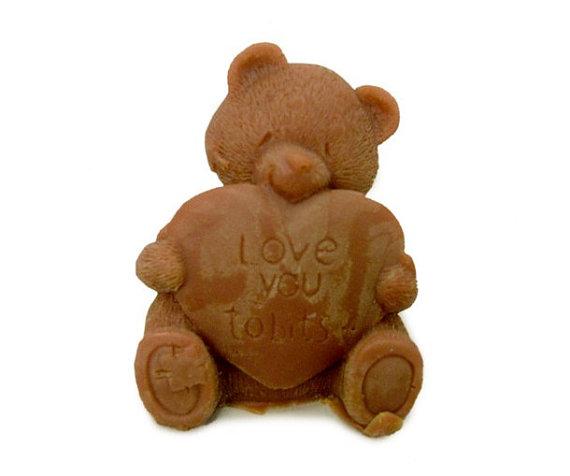แม่พิมพ์รูปหมี 3D 60g ราคา 450 บาท