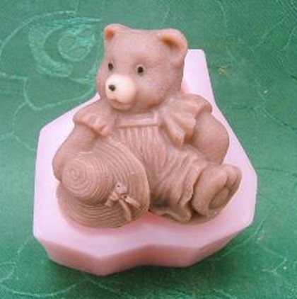 แม่พิมพ์ซิลิโคนรูปหมี 3D ขนาด 75 กรัม ราคา 450 บาท