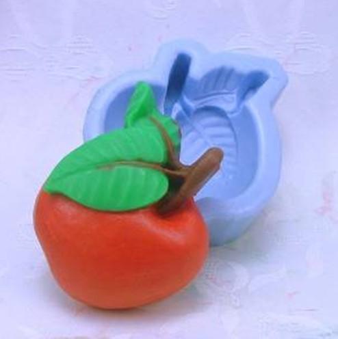 แม่พิมพ์สบู่ซิลิโคนรูปแอบเปิ้ล 80 กรัม ราคา 350 บาท
