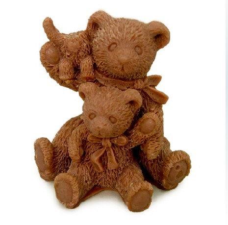 แม่พิมพ์ซิลิโคน 3D รุปหมี ราคา 700 บาท