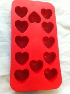 แม่พิมพ์รูปหัวใจ 12 ช่อง ราคา 150 บาท