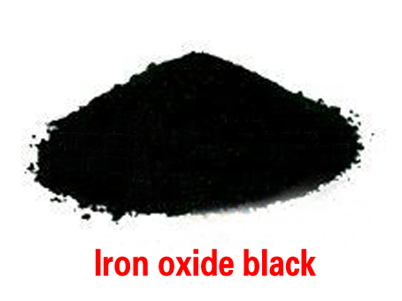iron oxide สีดำ