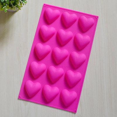 แม่พิมพ์รูปหัวใจขนาด20กรัม 15ช่อง ราคา 180 บาท