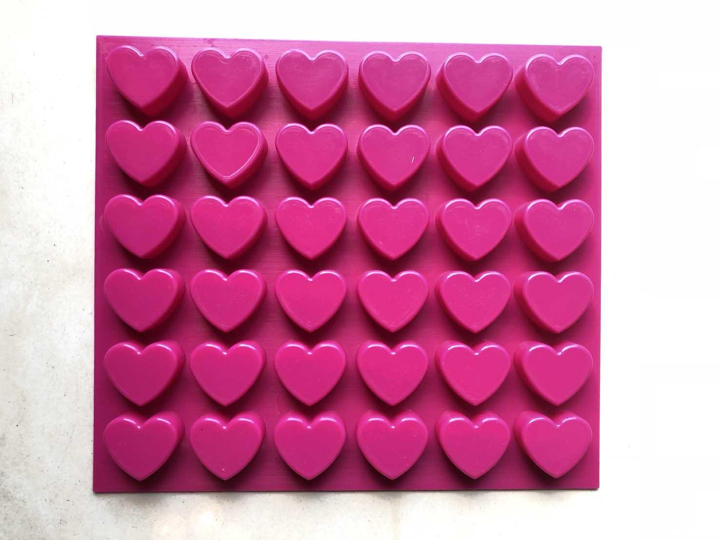 พิมพ์หัวใจ 20 กรัม 36 ช่อง