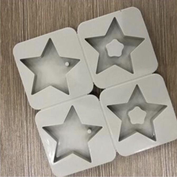 พิมพ์เจาะรู รูปดาว 4 ช่อง