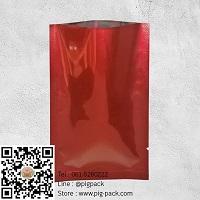 ซองฟอยล์สีแดงขนาด 9.5x6 cm.