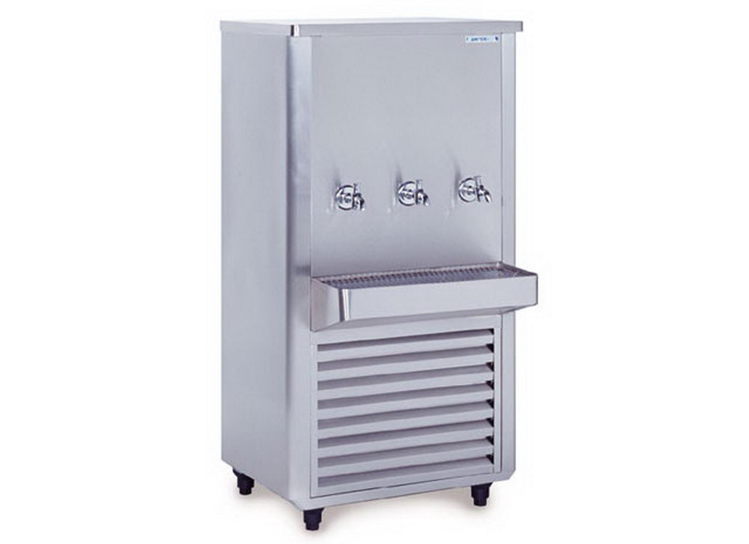 ตู้ทำน้ำเย็น3ก๊อกสแตนเลส รุ่น SWC-325SRT (SANDEN INTERCOOL) 4