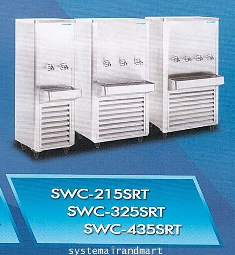 ตู้ทำน้ำเย็น3ก๊อกสแตนเลส รุ่น SWC-325SRT (SANDEN INTERCOOL) 1