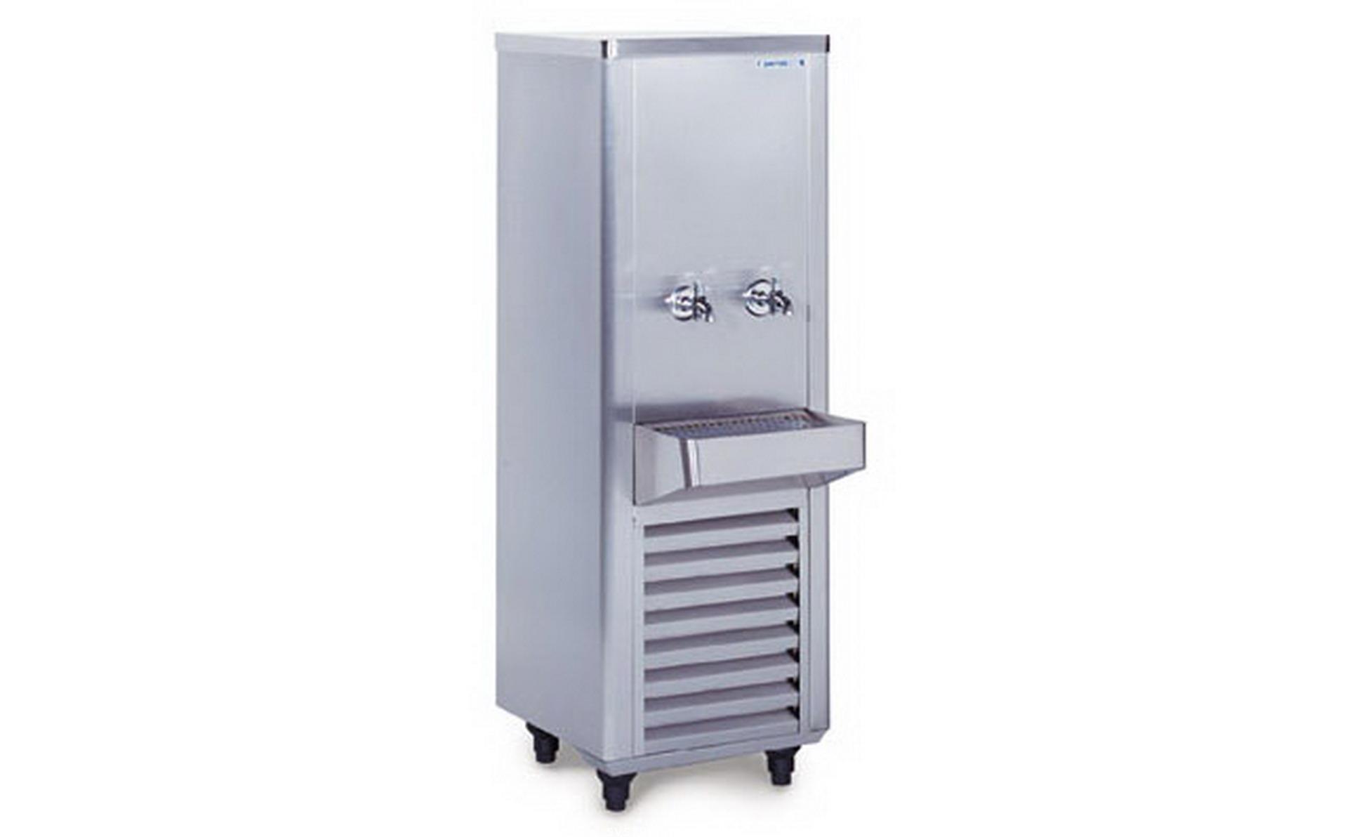 ตู้ทำน้ำเย็น2ก๊อกสแตนเลส รุ่น SWC-215SRT(SANDEN INTERCOOL) 2