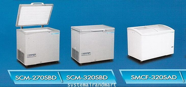 ตู้นอนฝาทึบแข่แข็งโช๊คอัพ SANDEN รุ่น SNH-0163N 3