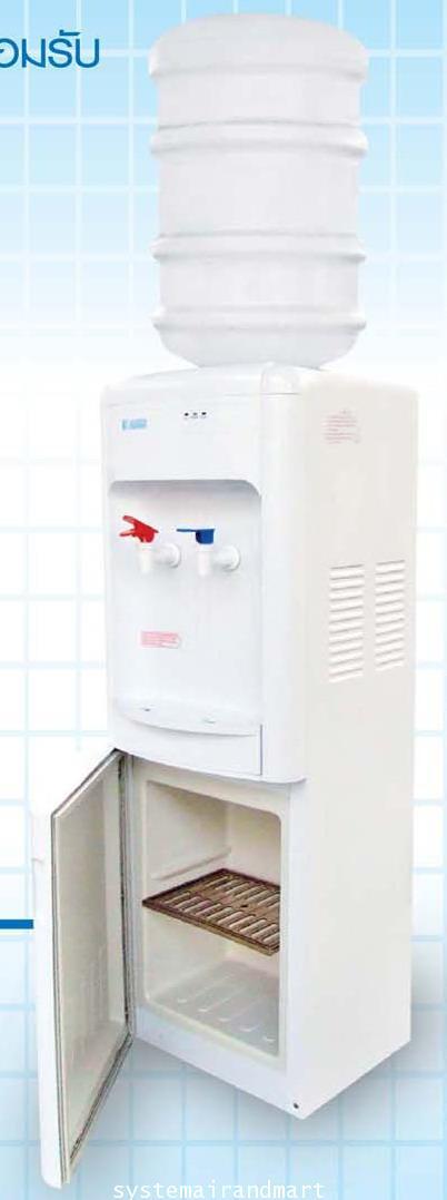ตู้ทำน้ำเย็น-ร้อนแบบขวดคว่ำมีช่องเก็บของ LB-LWB1.5-5x7SANDEN INTERCOOL 4