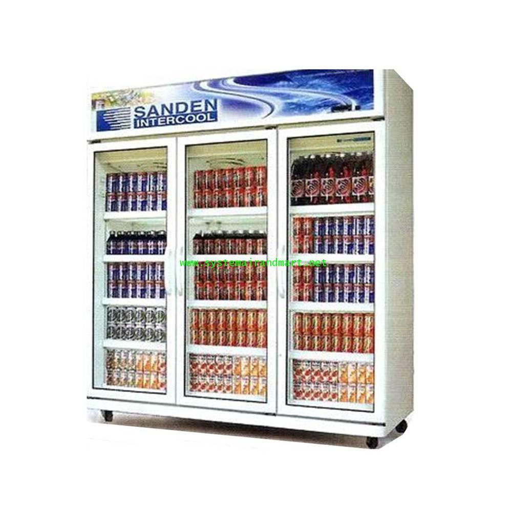 ตู้แช่เย็นกระจก 3 ประตู SANDEN รุ่น SEC-N1500SBD 3