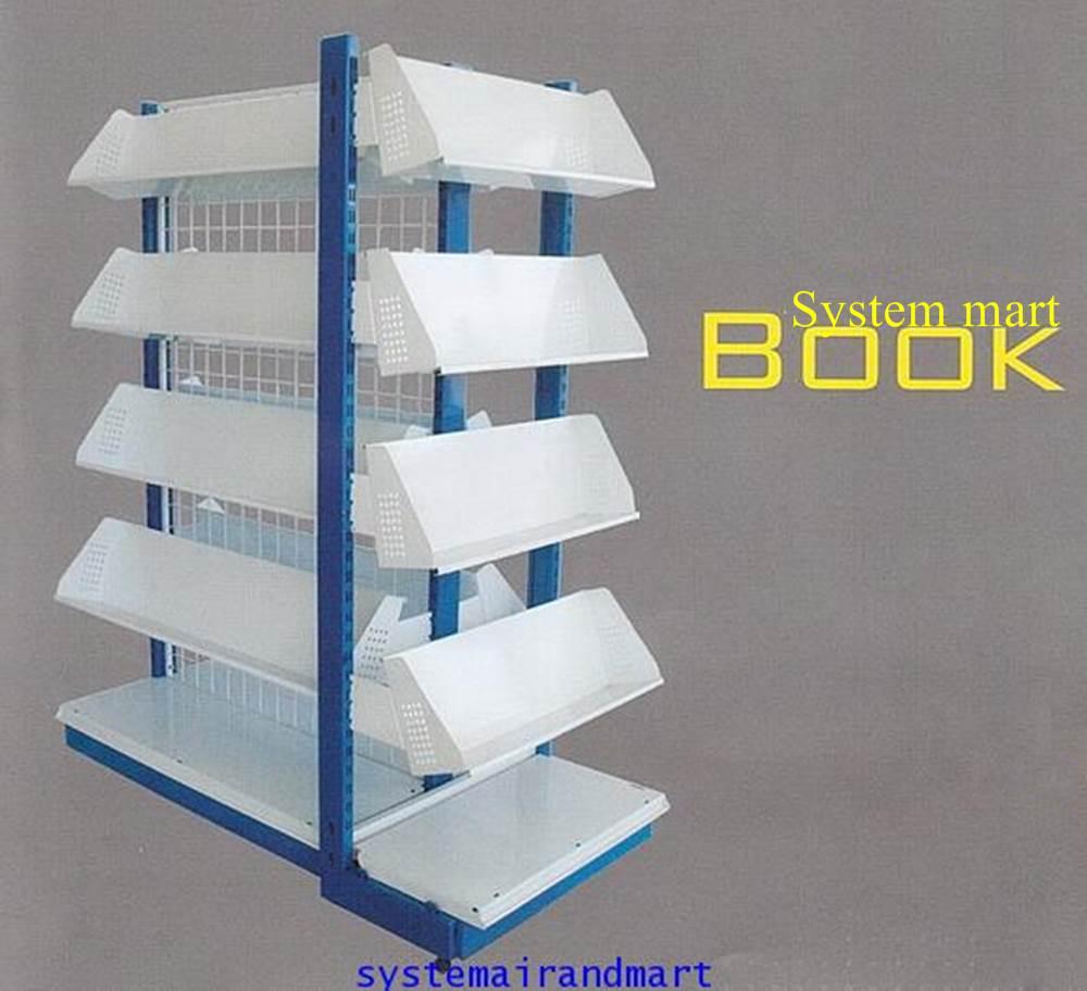 ชั้นวางหนังสือ 1 หน้า 60x120 รุ่น ซิสเต็มมาร์ท บุ๊ค