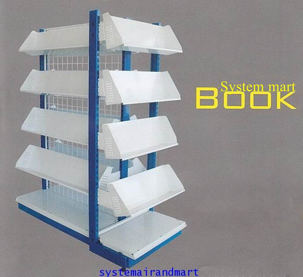 ชั้นวางหนังสือ 1 หน้า 60x150 รุ่น ซิสเต็ม มาร์ทบุ๊ค 1