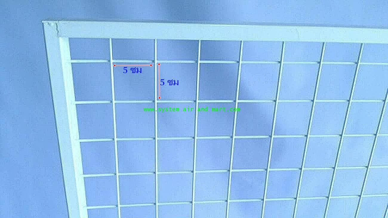 ชั้นแขวนฮุกร์ขนาด70ซมx120ซม. แบบมีล้อ 2