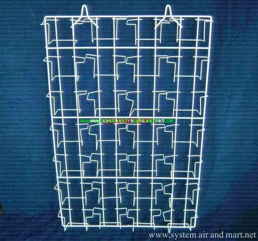 ชั้นCD แขวนแผงใหญ่ 4 แถว 28 ช่อง
