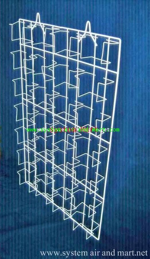 ชั้นCD แขวนแผงใหญ่ 4 แถว 28 ช่อง 1
