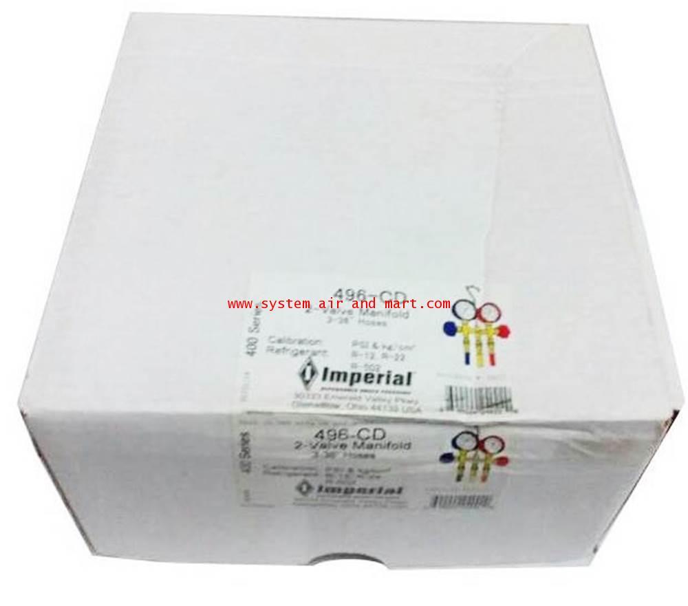 เกจ์พร้อมสาย Imperial 496-CD