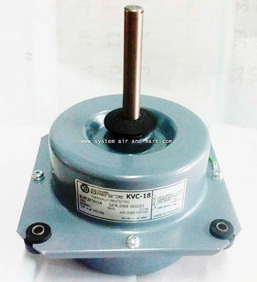 มอเตอร์พัดลมคอล์ยร้อน KVF3F503A
