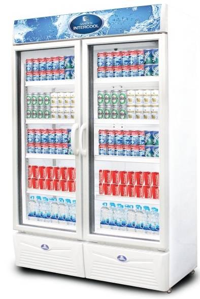 ตู้แช่เย็นกระจก 2 ประตู SPA-0903 SANDEN