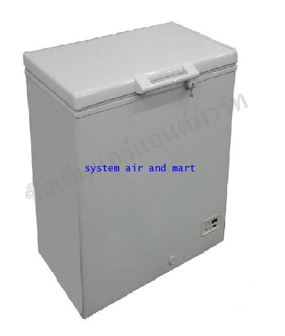 ตู้แช่แข็ง ฝาทึบโช๊คอัพ Sanden Intercool รุ่น SNQ-0153 (5.3 คิว)