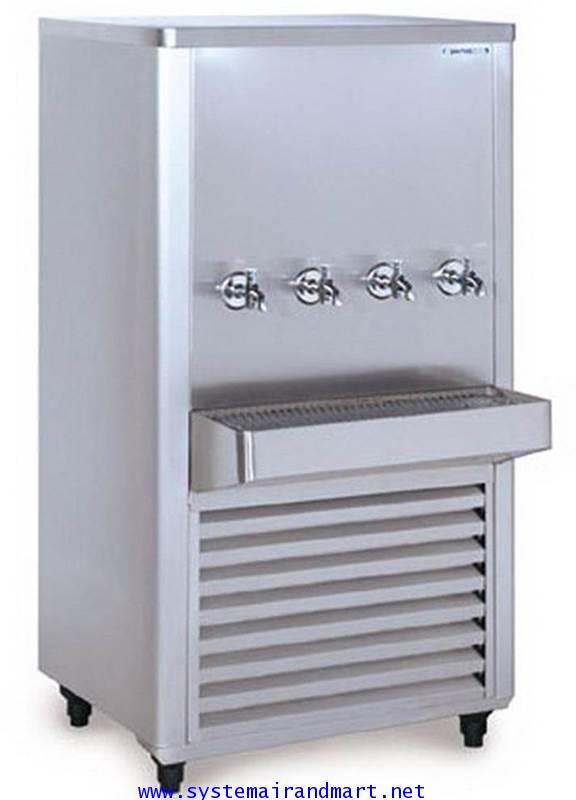 ตู้ทำน้ำเย็น4ก๊อกสแตนเลส รุ่น SWC-435SRT(SANDEN INTERCOOL)