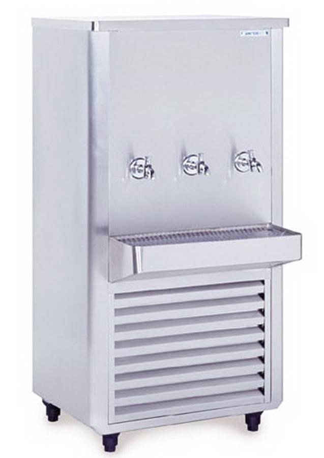 ตู้ทำน้ำเย็น3ก๊อกสแตนเลส รุ่น SWC-325SRT (SANDEN INTERCOOL) 2