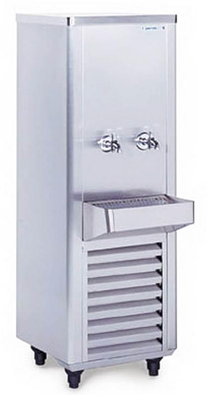 ตู้ทำน้ำเย็น2ก๊อกสแตนเลส รุ่น SWC-215SRT(SANDEN INTERCOOL)