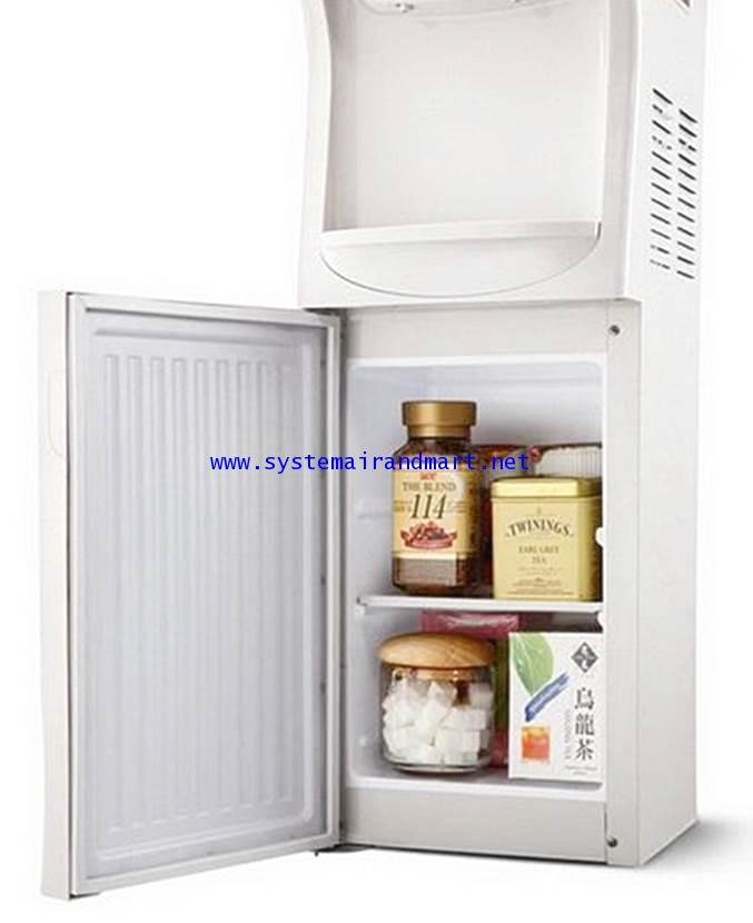 ตู้ทำน้ำเย็น-ร้อนแบบขวดคว่ำมีช่องเก็บของ LB-LWB1.5-5x7SANDEN INTERCOOL 3