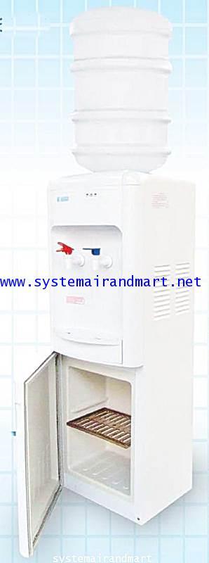 ตู้ทำน้ำเย็น-ร้อนแบบขวดคว่ำมีช่องเก็บของ LB-LWB1.5-5x7SANDEN INTERCOOL 2