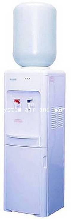 ตู้ทำน้ำเย็น-ร้อนแบบขวดคว่ำมีช่องเก็บของ LB-LWB1.5-5x7SANDEN INTERCOOL