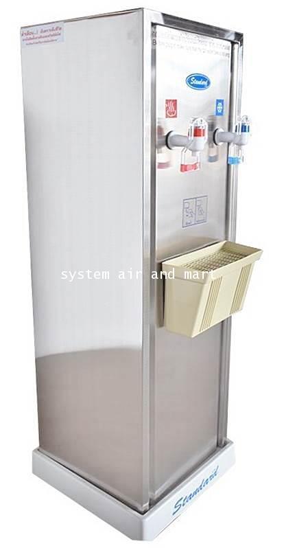 ตู้ทำน้ำเย็น-ร้อนแบบขวดคว่ำสแตนเลส