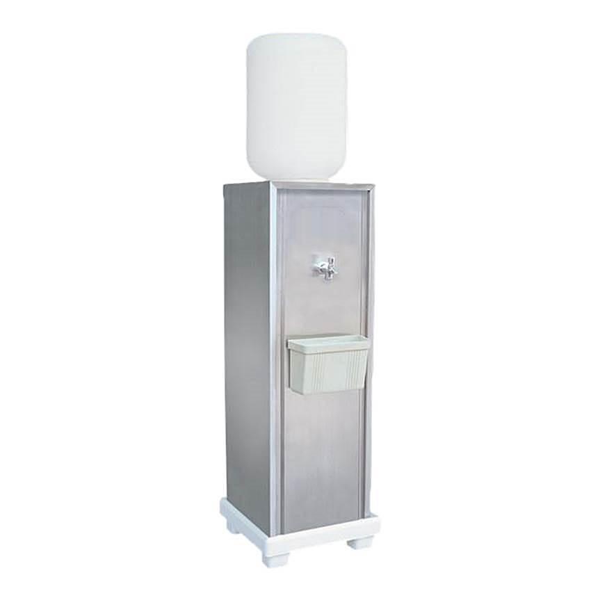 ตู้ทำน้ำเย็น1ก๊อกแบบขวดคว่ำแสตนเลส 4