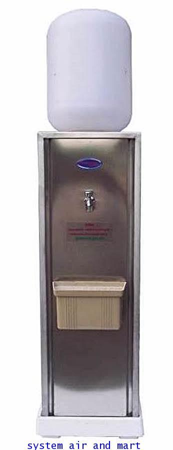 ตู้ทำน้ำเย็น1ก๊อกแบบขวดคว่ำแสตนเลส 1