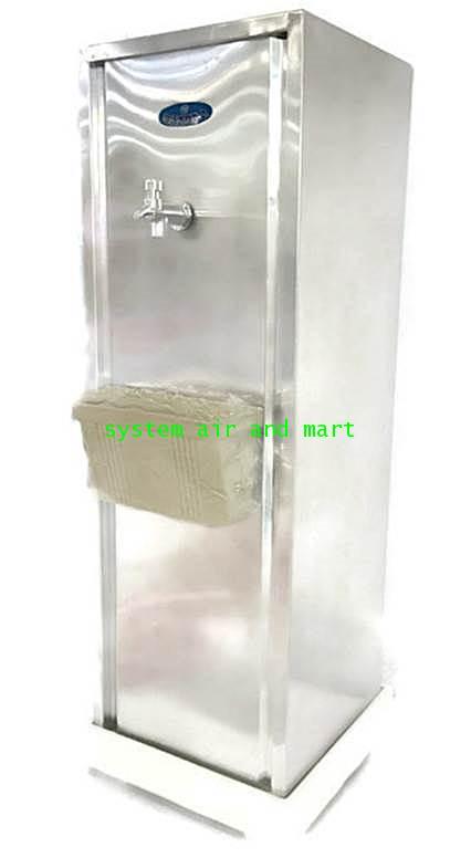 ตู้ทำน้ำเย็น1ก๊อกแบบขวดคว่ำแสตนเลส 6