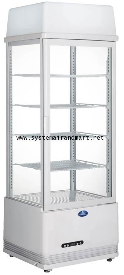 ตู้แช่เย็น กระจก 4 ด้าน Sanden Intercool รุ่น SAG-0983 (3.46 คิว)